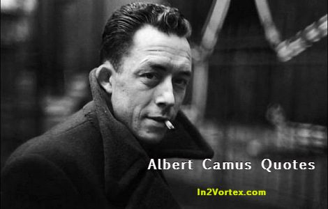 Quote Of The Day | Albert Camus